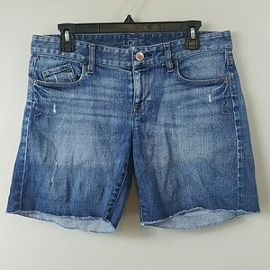 Ann Taylor LOFT Faded Denim Shorts